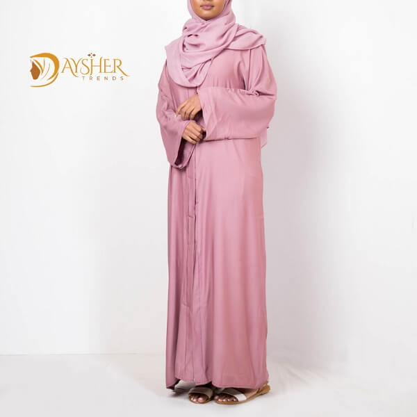 Shop in Eastleigh | Plain Purple Abaya For Sale