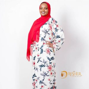 Shop in Eastleigh | Red Blue Floral Print Dress For Sale