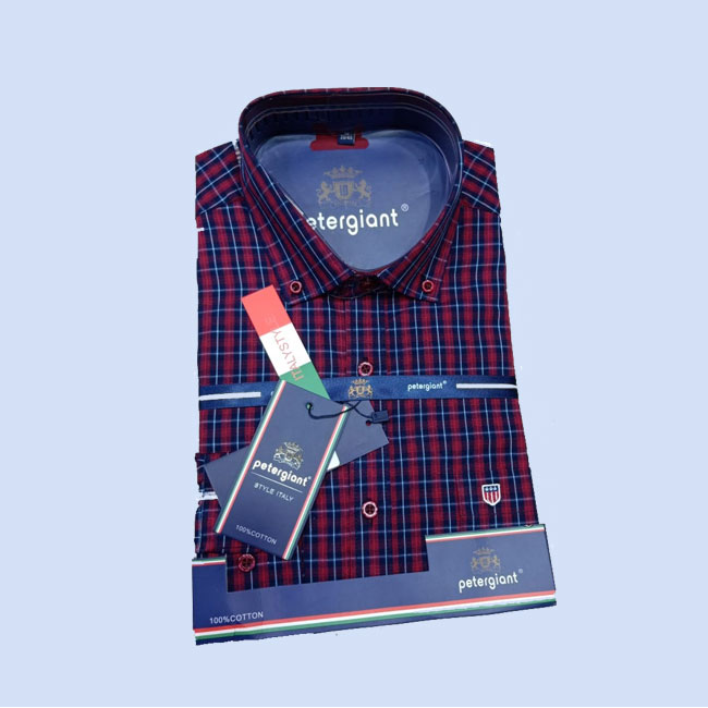 Shop in Eastleigh    Men Cotton Checked Shirts For Sale