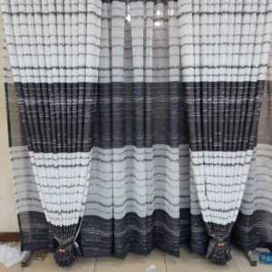 Shop in Eastleigh |  Black and White Floral Curtains For Sale