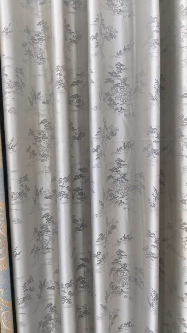 Shop in Eastleigh   Glossy Floral Multi-colored Curtains For Sale