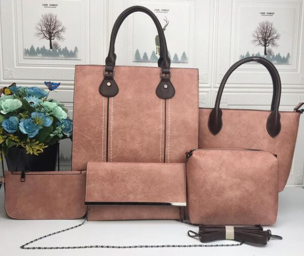 Shop in Eastleigh | Leather 5 in 1 Fashion Women Handbags For Sale