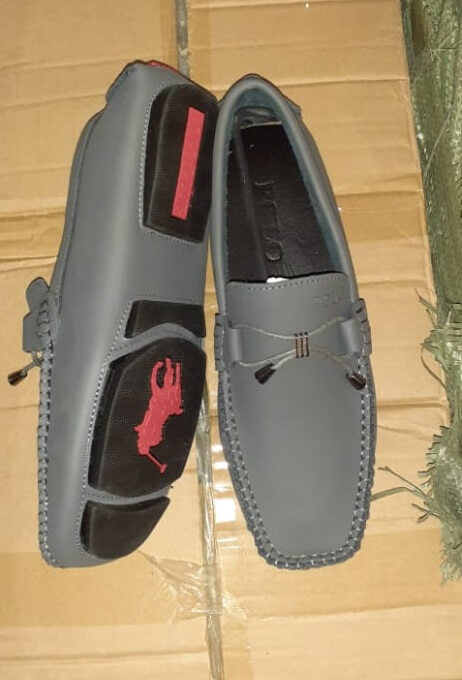 Shop in Eastleigh | Polo Leather Slip on Loafer Shoes For Men For Sale