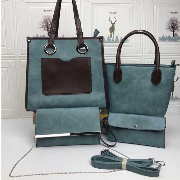 Shop in Eastleigh | Women Fashion 4 in 1 PU Leather Bags For Sale