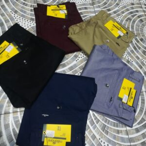 Shop in Eastleigh | Men Non-Fade Stretch Khaki Trousers For Sale