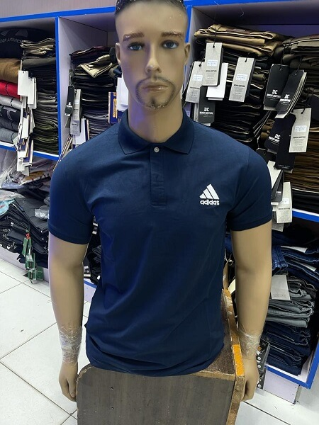 Shop in Eastleigh | Fashion Heavy-duty Plain Cotton Polo Shirt For Sale