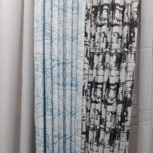 Shop in Eastleigh |  Abstract Patterned Multi-color Curtain And Sheer For Sale