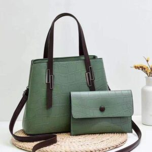 Shop in Eastleigh    2 in 1 Patterned Fashion Leather Handbags For Sale