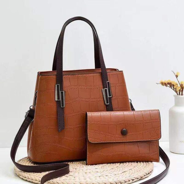 Shop in Eastleigh | 2 in 1 Patterned Fashion Leather Handbags For Sale