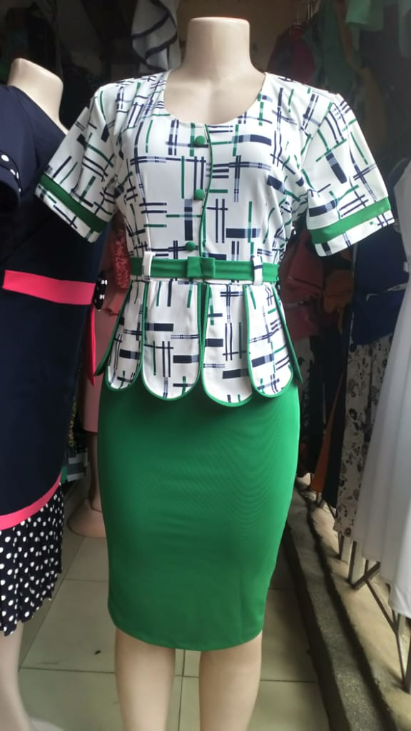 Shop in Eastleigh | Fashion Floral Turkey Dress Suit For Sale