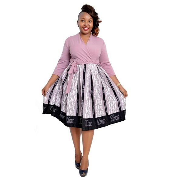Shop in Eastleigh   Fashion Dior Casual/Official Skater Dress For Sale