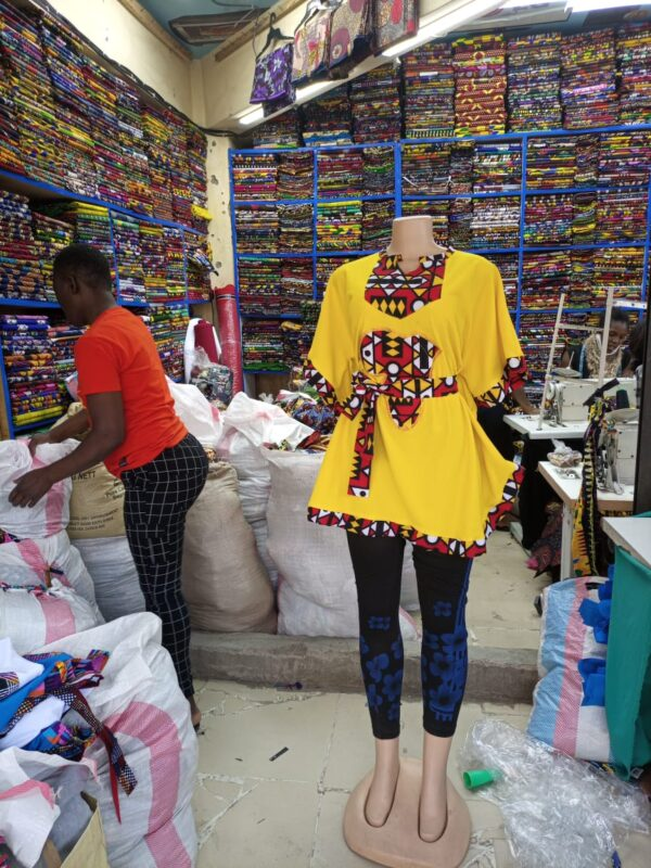 Shop in Eastleigh |  Classy Top Class Tops Ankara Branded For Sale