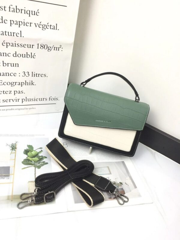 Shop in Eastleigh | Fashion Ladies Leather Curved Sling Bag For Sale
