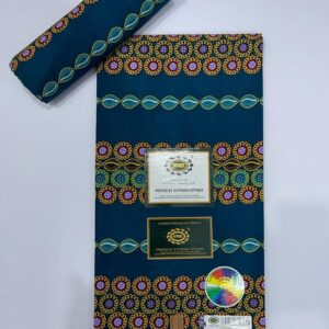 Shop in Eastleigh |  African Fabrics 100% Cotton Kitenge Fabric – 6 Yards For Sale