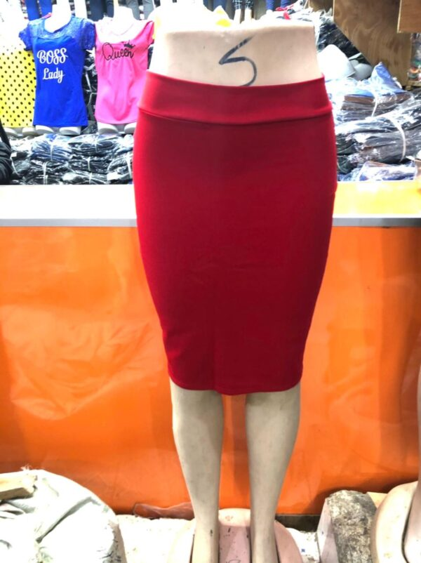 Shop in Eastleigh | Fashion Heavy Cotton Ladies' Pencil Skirt For Sale